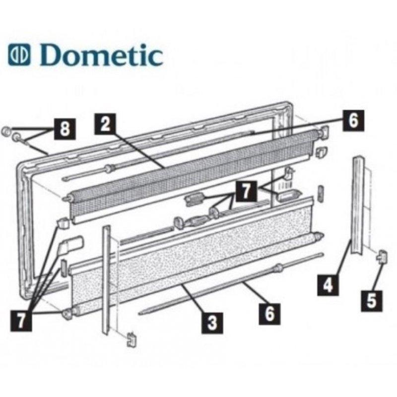 innenrahmen befestigungssatz dometic seitz fenster s3 s4. Black Bedroom Furniture Sets. Home Design Ideas